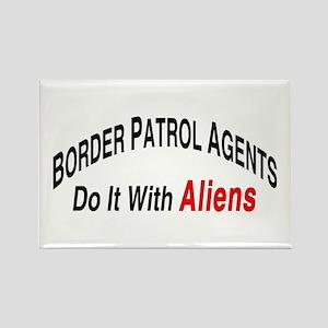 Border Patrol Agents - Rectangle Magnet