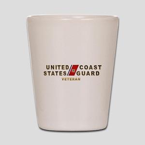 USCG Veteran Shot Glass