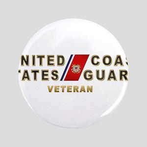"USCG Veteran 3.5"" Button"