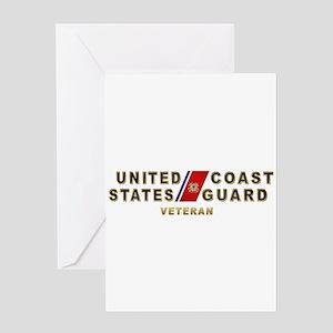 USCG Veteran Greeting Card