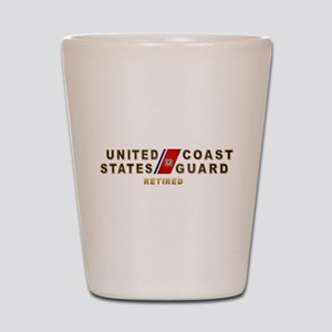 USCG Retired Shot Glass