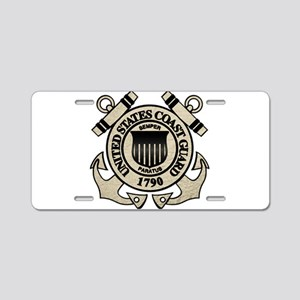 USCG Aluminum License Plate