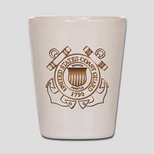 USCG Shot Glass