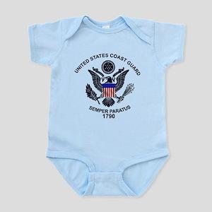 USCG Flag Emblem Infant Bodysuit
