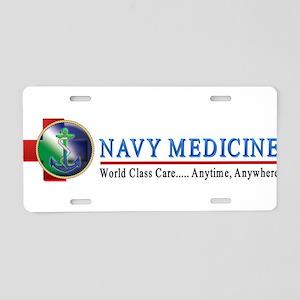 Navy Medicine Aluminum License Plate