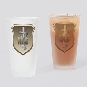 USAF Medical Services Drinking Glass