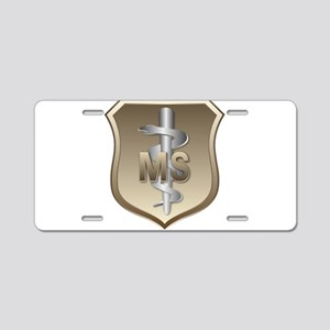 USAF Medical Services Aluminum License Plate