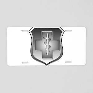 USAF Enlisted Medical Aluminum License Plate