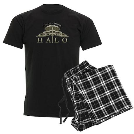 Halo Badge Men's Dark Pajamas