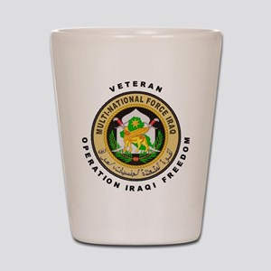 OIF Veteran Shot Glass