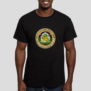 OIF Veteran Men's Fitted T-Shirt (dark)