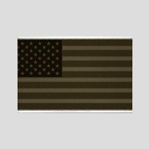 US Flag OD Patch Rectangle Magnet