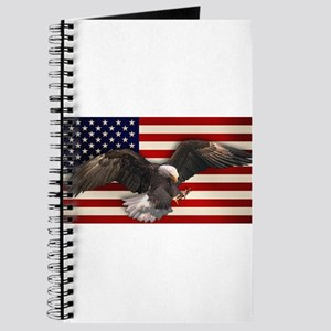 American Flag w/Eagle Journal