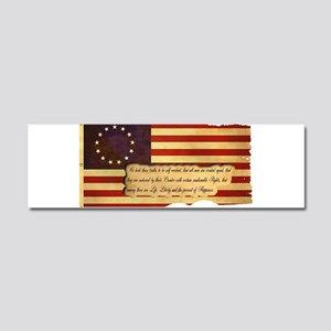 Old Glory Car Magnet 10 x 3