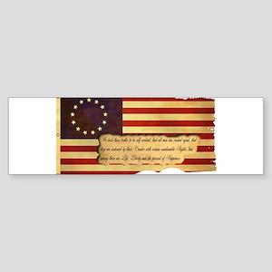 Old Glory Sticker (Bumper)