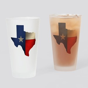 State of Texas Drinking Glass