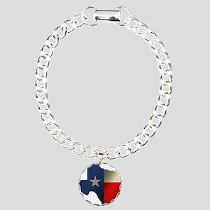 State of Texas Charm Bracelet, One Charm