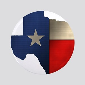 """State of Texas 3.5"""" Button"""