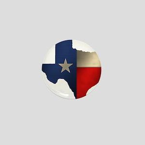 State of Texas Mini Button