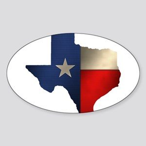 State of Texas Sticker (Oval)