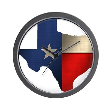 State of Texas Wall Clock