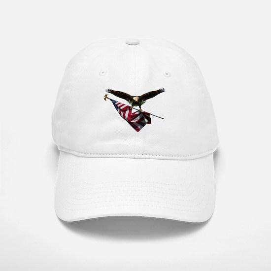 Eagle & Flag Baseball Baseball Cap