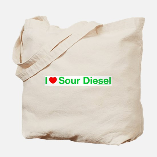 I Heart Sour Diesel Tote Bag