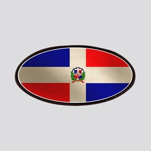 Dominican Flag Patches