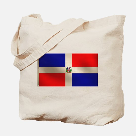 Dominican Flag Tote Bag