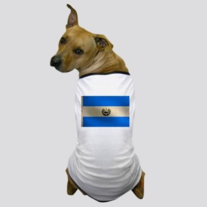 Salvadoran flag Dog T-Shirt