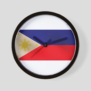 Philippine Flag Wall Clock
