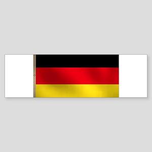 German Flag Sticker (Bumper)