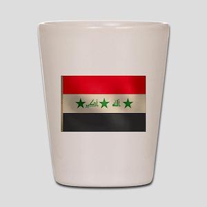 Iraqi Flag Shot Glass