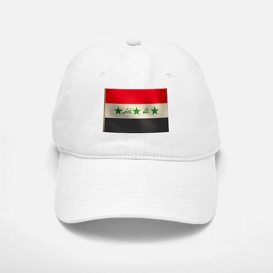 Iraqi Flag Baseball Baseball Cap