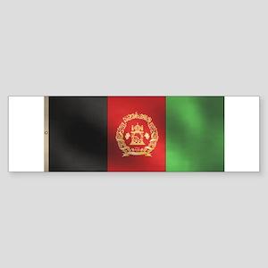 Afghanistan Flag Sticker (Bumper)