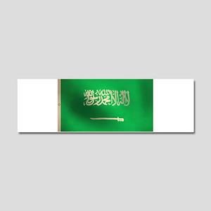 Flag of Saudi Arabia Car Magnet 10 x 3