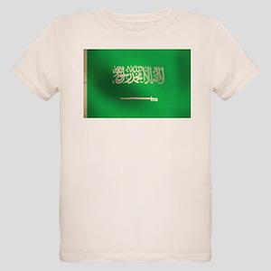 Flag of Saudi Arabia Organic Kids T-Shirt