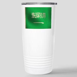 Flag of Saudi Arabia Stainless Steel Travel Mug