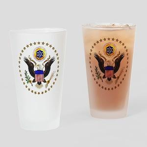 U.S. Seal Drinking Glass