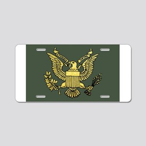 U.S. Seal Aluminum License Plate