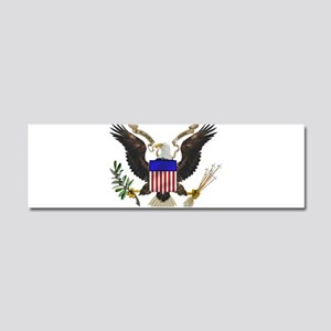 Great Seal Eagle Car Magnet 10 x 3