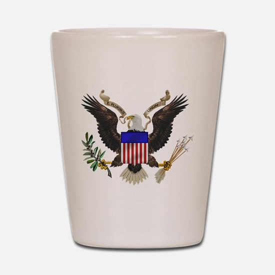Great Seal Eagle Shot Glass