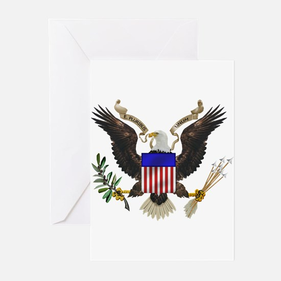 Great Seal Eagle Greeting Cards (Pk of 20)