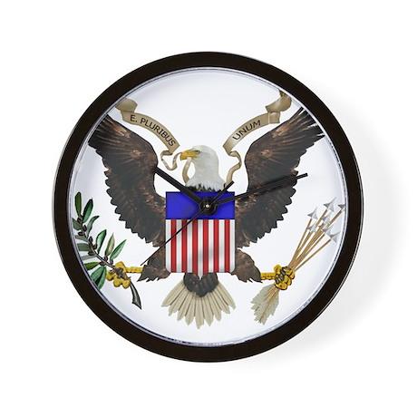 Great Seal Eagle Wall Clock