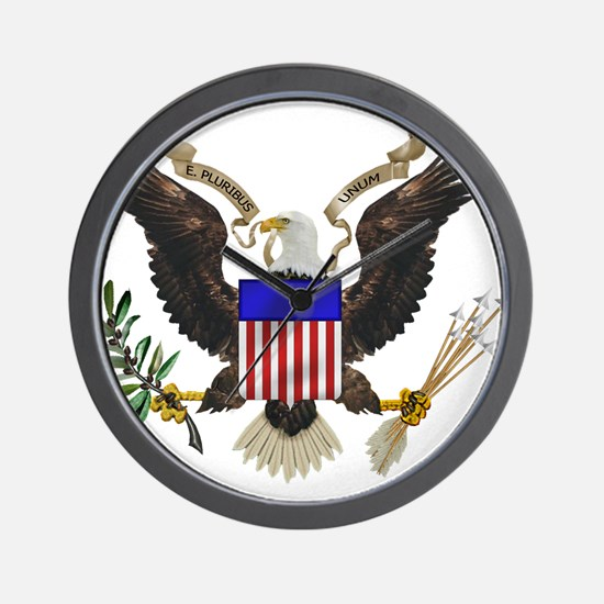 Great Seal Eagle Wall Clock