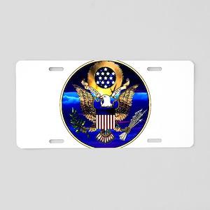 US Seal Drinkware Aluminum License Plate