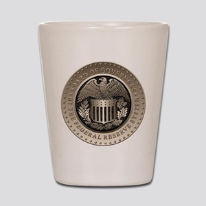 The Federal Reserve Shot Glass