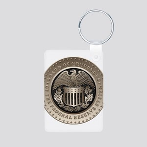 The Federal Reserve Aluminum Photo Keychain