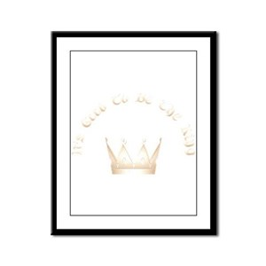 It's Good to be the King Framed Panel Print