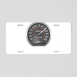 90 mph Aluminum License Plate
